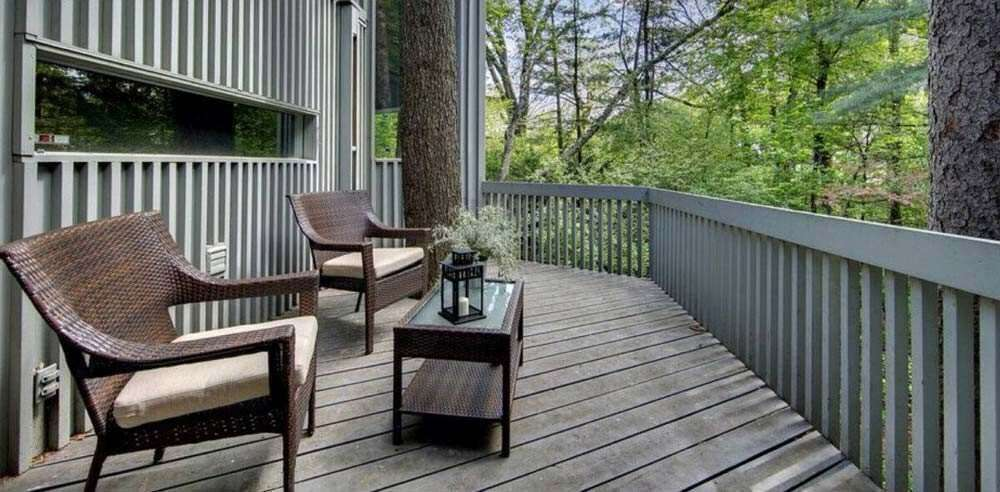 Before Image - Deck painting project from DuraPro Painting.