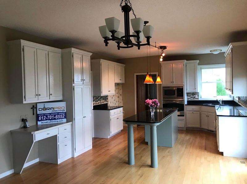After Image - Kitchen cabinet painting