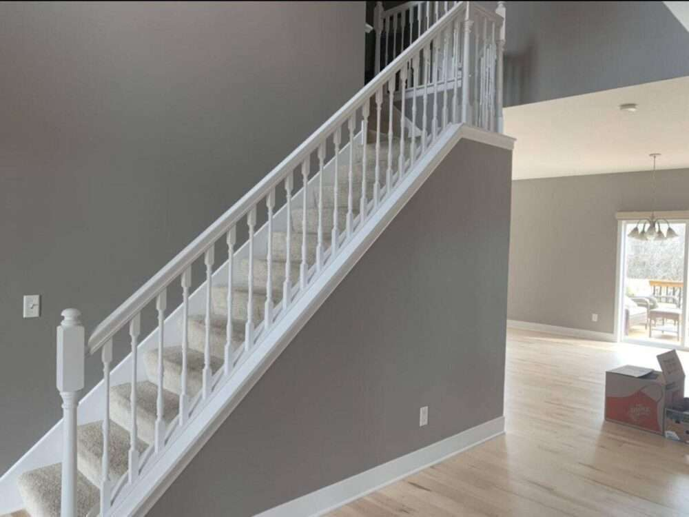 After Image - Stair project from DuraPro Painting.