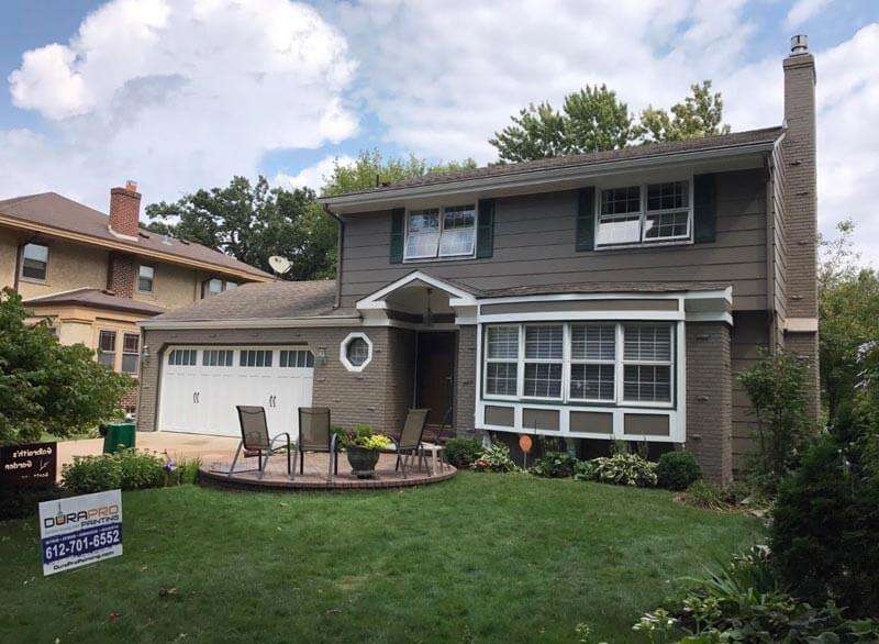 After Image - Residential exterior painting project by DuraPro Painting